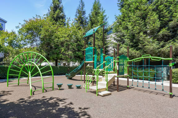 On-site Children's Playground at The Estates at Park Place, 3400 Stevenson Boulevard, Fremont
