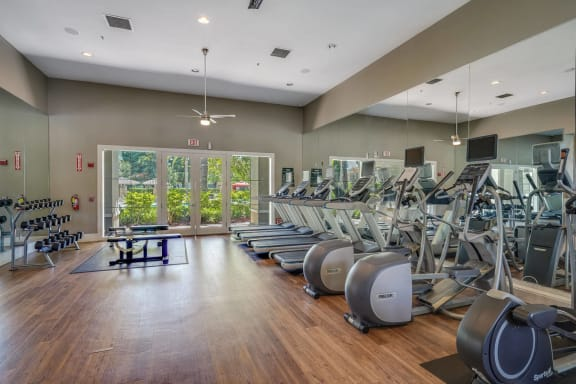 State-of-the-Art Fitness Center at The Estates at Park Place, Fremont, CA