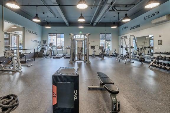 Spacious, 24-Hour Fitness Center at Platform 14, OR, 97124