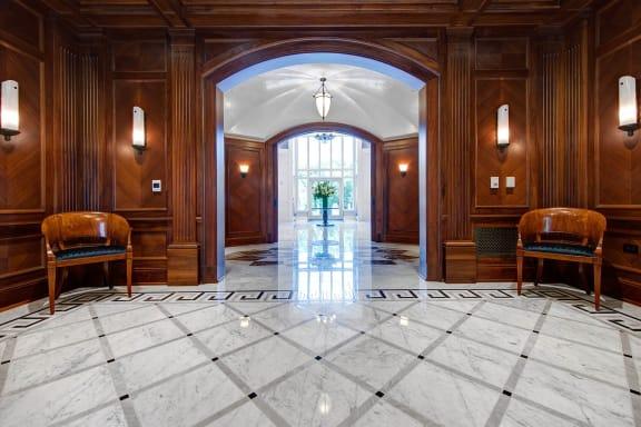Grand entrance at The Woodley, Washington, DC 20008