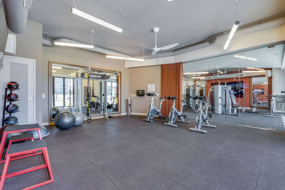 Fully Equipped Fitness Center at The Marston by Windsor, Redwood City, CA