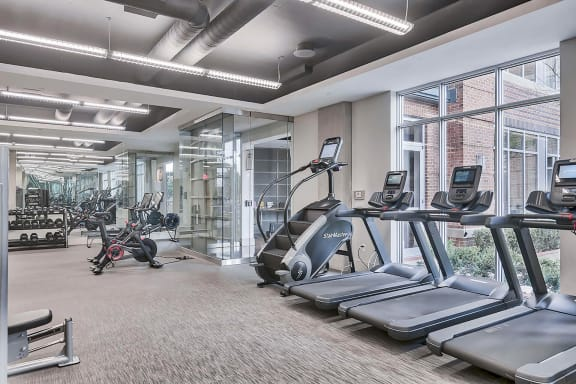 New 24-Hour Fitness Club at Crescent at Fells Point by Windsor, Maryland, 21231