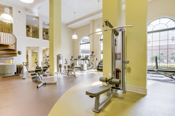 Multi-Level 4000 Sq. Ft. Fitness Center at Windsor at Glenridge, 30342, GA