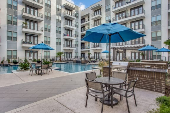 Poolside Grill at Windsor CityLine, 1250 Hunt Street, TX