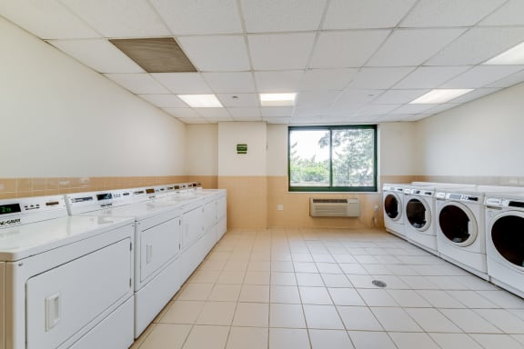 On-Site Laundry Facilities at Windsor at Mariners, 100 Tower Dr., NJ