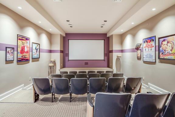 Club 1201 Cinema Room at Platform 14, Hillsboro, Oregon