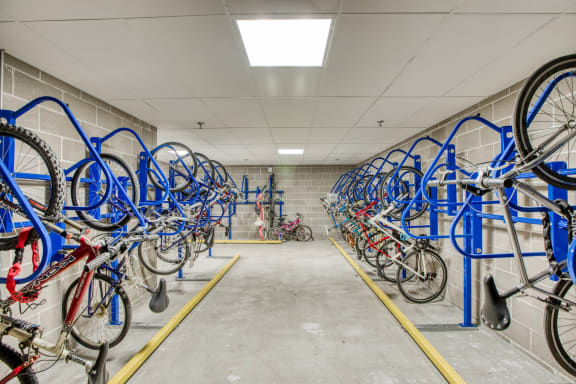 Covered Bike Storage at Centric LoHi by Windsor, Denver, CO