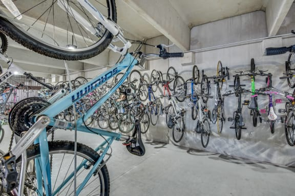 Bicycle Storage With Repair Station at Windsor at West University, Texas, 77005