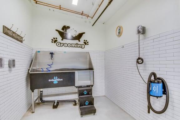 Pet Washing Station at The Whittaker, WA, 98116