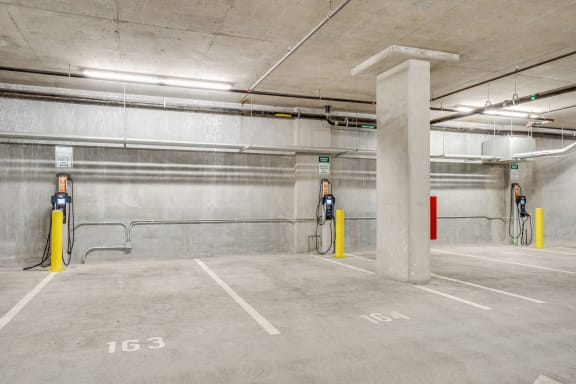Parking Garage at The Marston by Windsor, 825 Marshall Street, CA