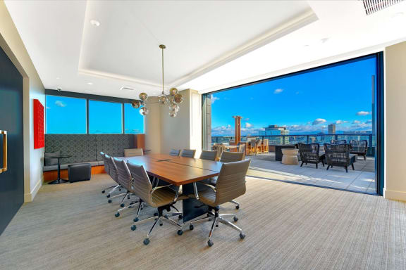 Conference Room at Cirrus, Seattle, Washington