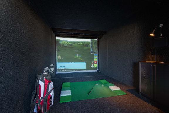 Golf Simulator at Halstead Tower by Windsor, 4380 King Street, Alexandria