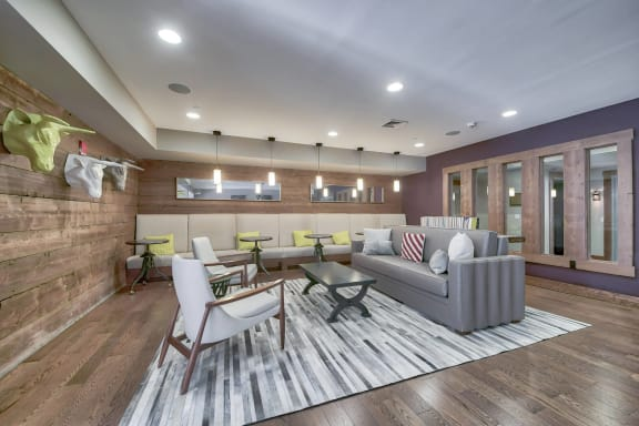 Resident Events in Resident Lounge at Warren at York by Windsor, New Jersey