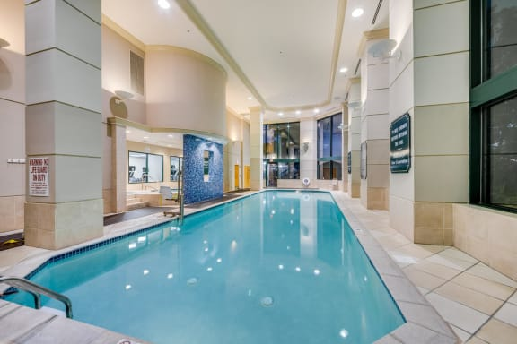 Year-Round, Indoor Pool at Windsor at Mariners, Edgewater, New Jersey