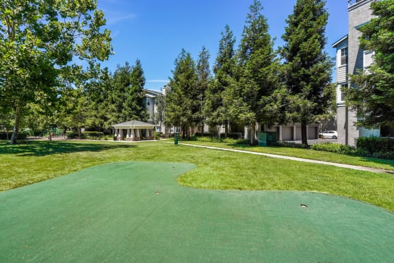 Putting Green at The Estates at Park Place, 3400 Stevenson Boulevard, Fremont