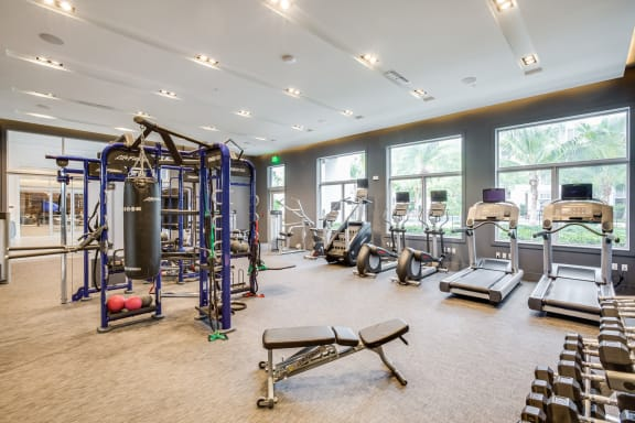 Fitness Center at Allure by Windsor
