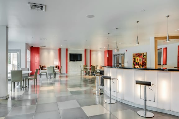 Community Lounge for Residents at Windsor at Contee Crossing, Laurel, Maryland