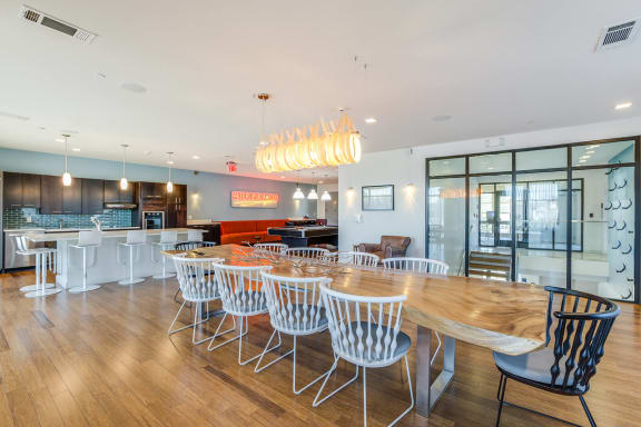 Host Your Event Resident Lounge at Windsor at Maxwells Green, Somerville, MA