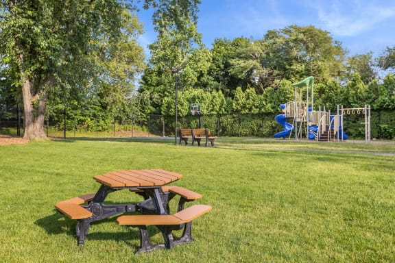 Playing Field with Picnic Tables at Windsor Ridge at Westborough, 1 Windsor Ridge Drive, MA