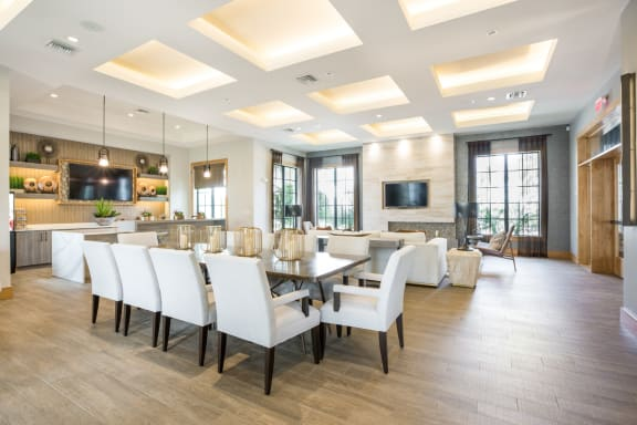 Posh Lounge Area In Clubhouse Is Perfect For Meeting Up With Friends at Mirador at Doral by Windsor, Doral, Florida