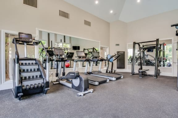 State-of-the-Art Fitness Center at The Estates at Cougar Mountain, Issaquah, WA