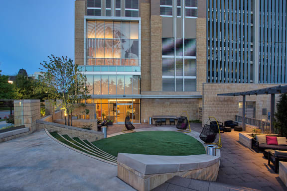 Outdoor Lounge at The Jordan by Windsor, 75201, TX