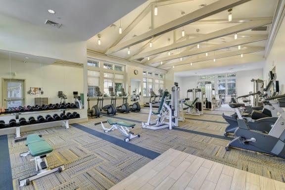 State-of-the-Art Fitness Center at Windsor at Oak Grove, Massachusetts, 02176