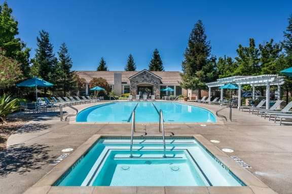 Olympic-Size Swimming Pool Heated All Year at Windsor at Redwood Creek, 600 Rohnert Park Expressway West, Rohnert Park