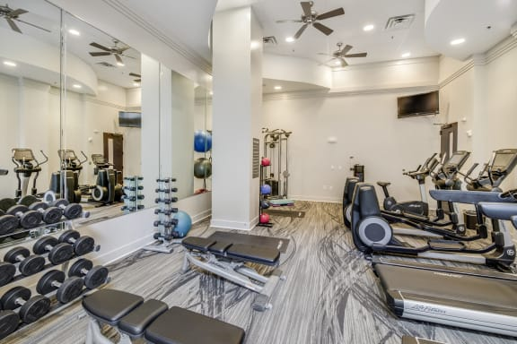 Fitness Center at Windsor at Brookhaven, GA, 30319
