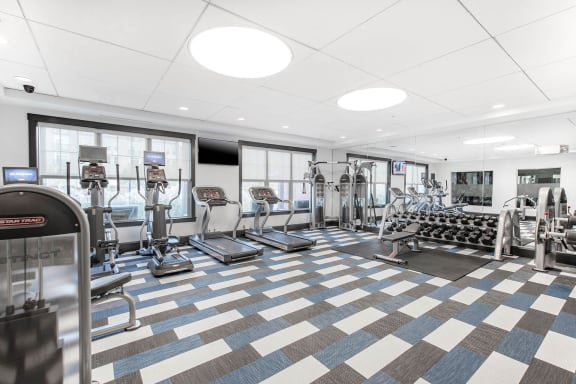 Fitness center at Jack Flats by Windsor, Massachusetts, 02176