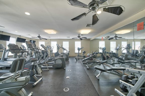 24-Hour Fitness Center at Windsor at Liberty House, 07302, NJ
