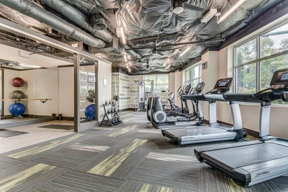 Cardio Equipment at Tera Apartments, Washington, 98033
