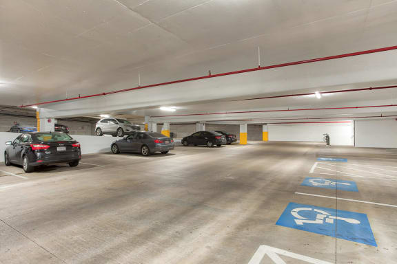 Garage Parking Available at Windsor West Lemmon, 3650 Cedarplaza Lane, TX