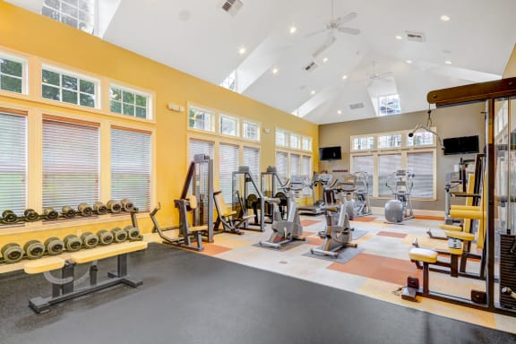 State-of-the-Art Fitness Center at Reflections by Windsor, Redmond, WA