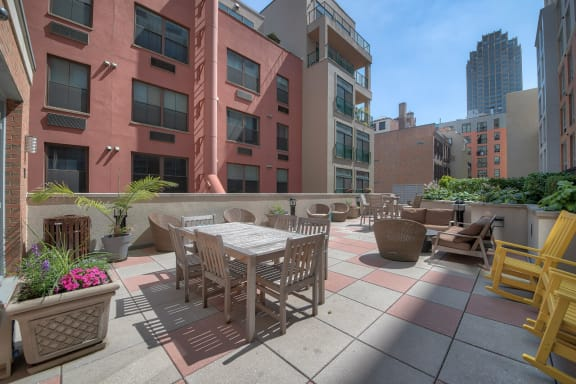 Third Floor, Landscaped Terrace at Warren at York by Windsor, Jersey City, New Jersey
