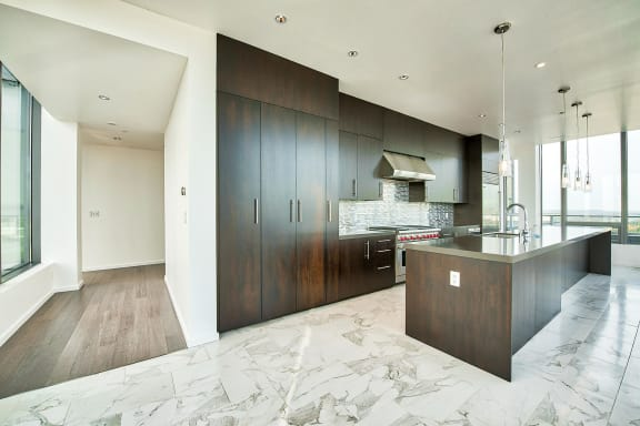 Refined cabinetry at The Bravern, 688 110th Ave NE, 98004