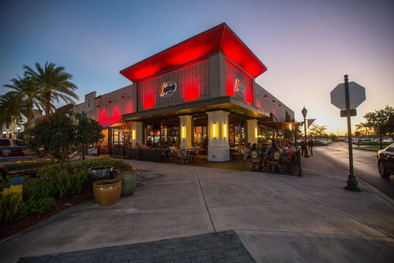 Patio dining options galore around Windsor at Miramar, 3701 Southwest 160th Avenue, Miramar