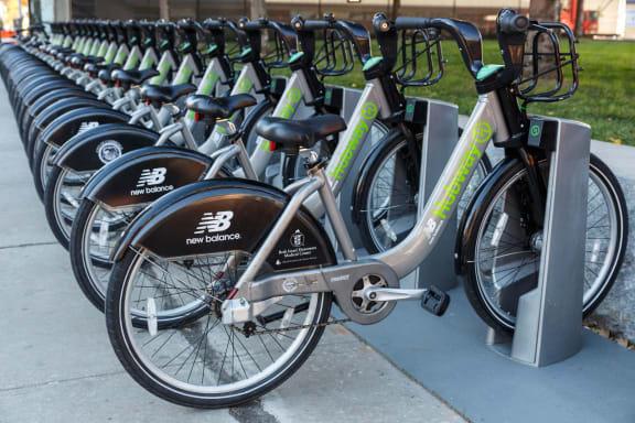 Bike Storage at The Victor by Windsor, Boston, Massachusetts