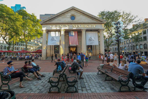 Nearby Quincy Market at The Victor by Windsor, Massachusetts, 02114