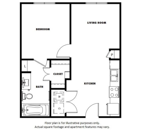 Floor Plan  A1 Metro West Floor Plan