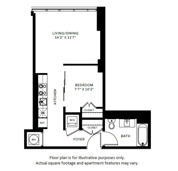 Floor Plan  A1 Floor Plan at 7770 Norfolk, Bethesda, MD, opens a dialog
