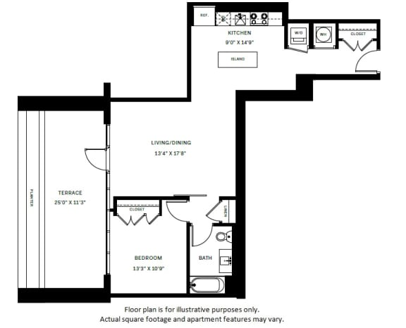 Floor Plan  A10 Floor Plan at 7770 Norfolk, Bethesda, 20814