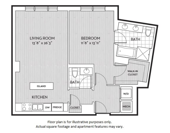 Floor Plan  A11(2) floor plan at The Woodley, Washington, DC 20008, opens a dialog