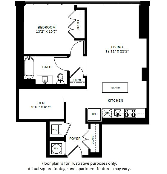 Floor Plan  A11 Floor Plan at 7770 Norfolk, Bethesda, Maryland