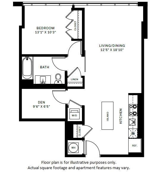 Floor Plan  A12 Floor Plan at 7770 Norfolk, Bethesda