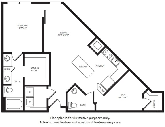 Floor Plan  A12D floor plan at Windsor Turtle Creek, Texas, 75219, opens a dialog