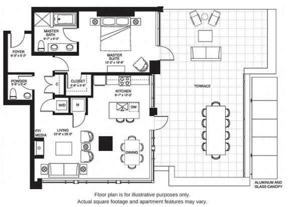 Floor Plan  A14 South