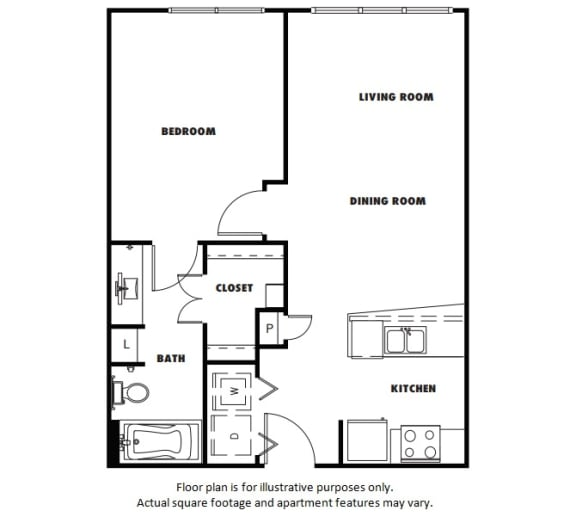 Floor Plan  A2 floor plan at Windsor Metro West, Texas, 75024
