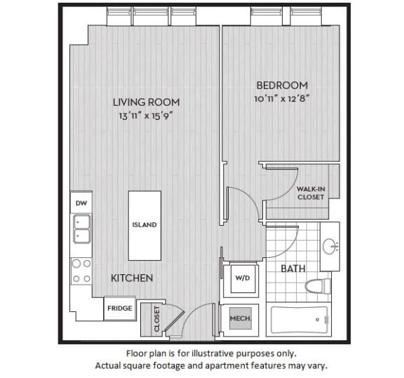 Floor Plan  A2(3) floor plan at The Woodley, 2700 Woodley Road, NW, 20008, opens a dialog