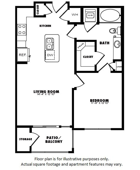 Floor Plan  A3(1) floor plan at Windsor Burnet, Texas, 78758